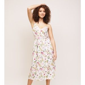 Light floral dress